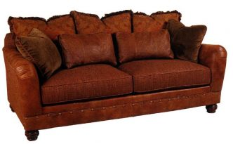 rust-colored-couch